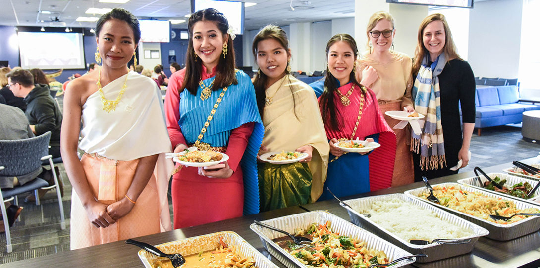 UIC Nursing celebration of Thai New Year