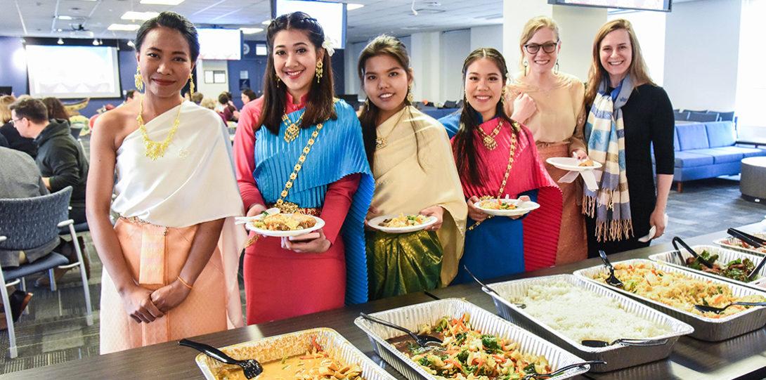UIC Nursing celebration of Thai New Year