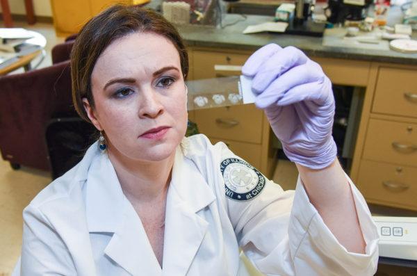 Researcher Anne Fink