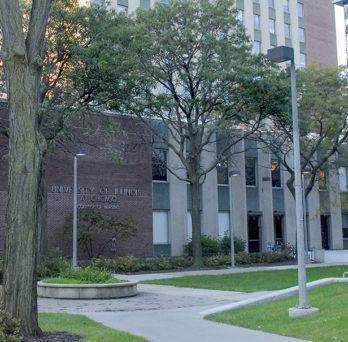 UIC Nursing's building in Chicago