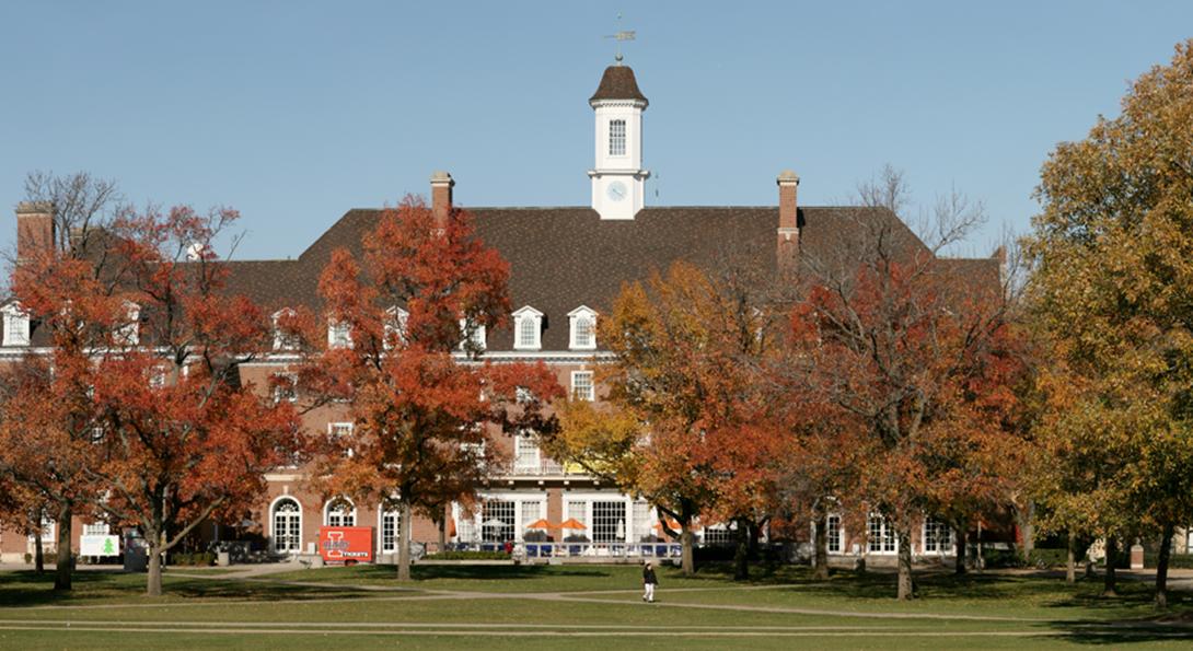Urbana-Champaign campus scene
