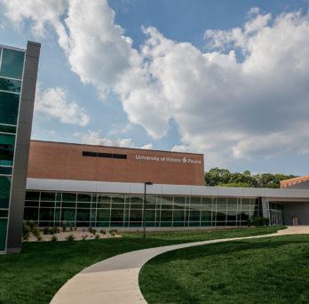 UIC Campus building in Peoria
