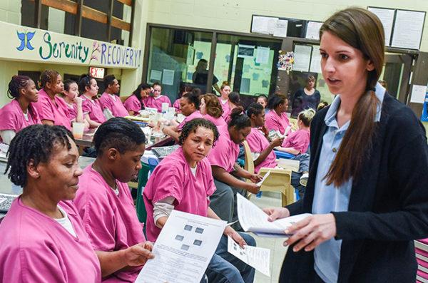 student teaching detainees