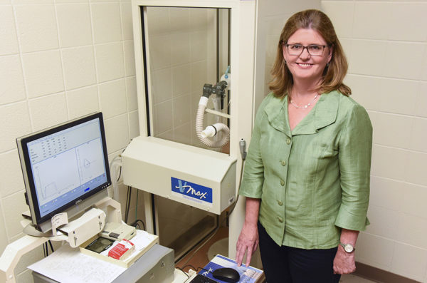 Researcher Eileen Collins
