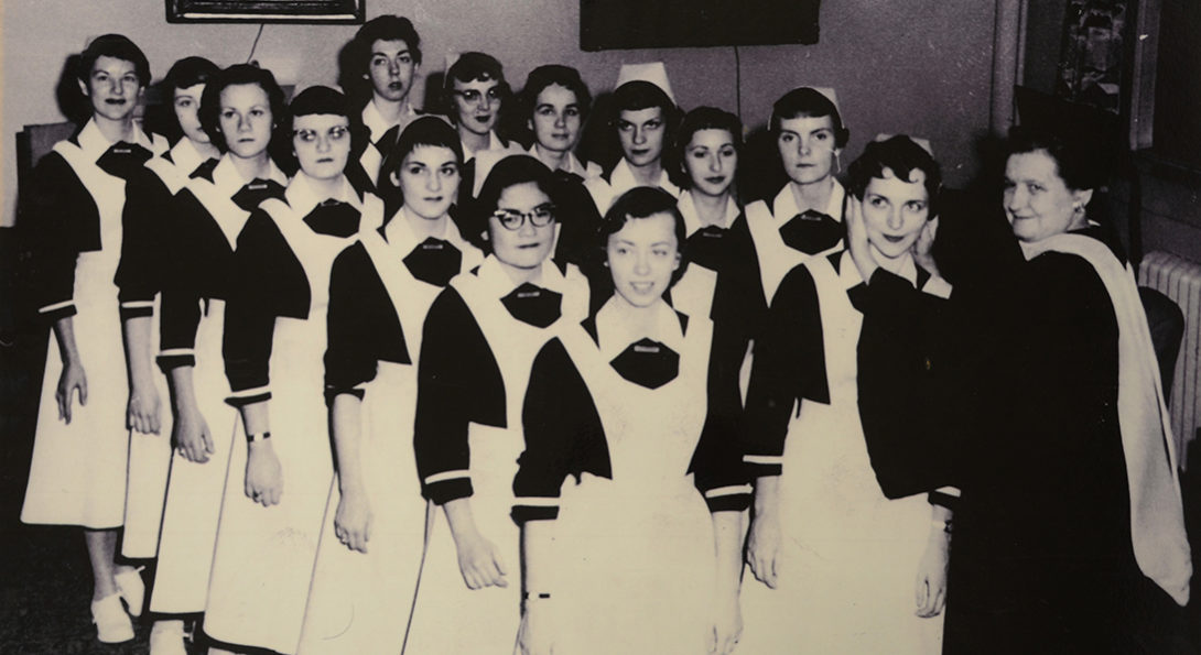 Early UIC Nursing class