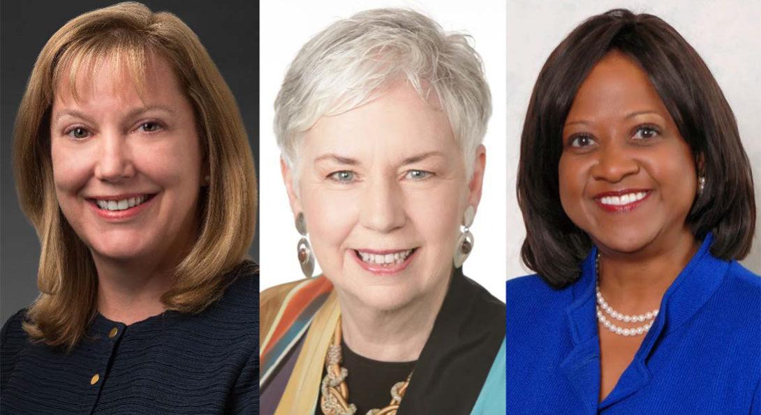 Julie Creamer, Judith Hicks, Mary Maryland