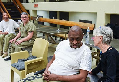 Gorman at Cook County Jail