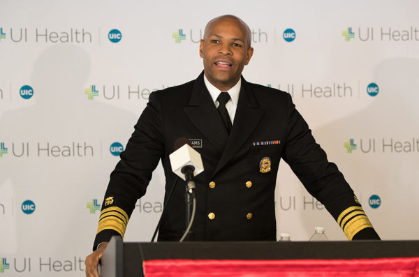 U.S. Surgeon General VADM Jerome Adams