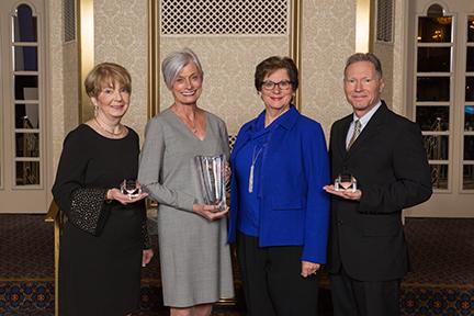 Gail Mulrooney; Gloria Jacobson, Terri Weaver, Paul Langlois