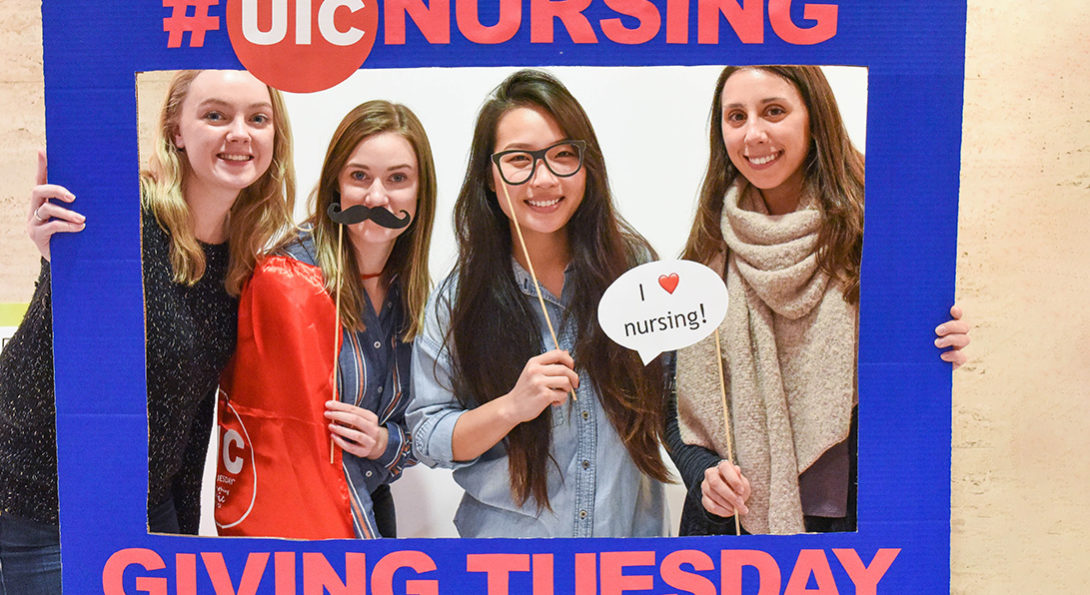 Students on Giving Tuesday