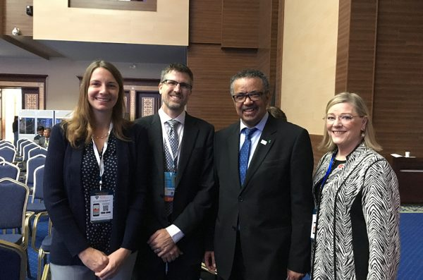 UIC delegation to Global Conference on Primary Health Care