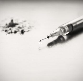 Needle used for drug injection