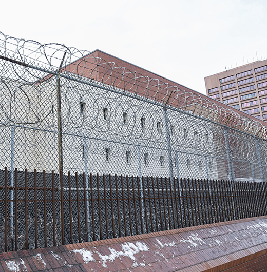 Exterior of Cook County Jail