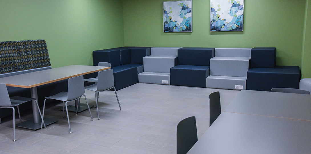 Student study lounge