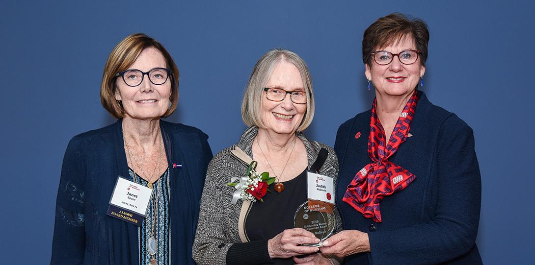 Outstanding Alumni Achievement Award recipient Judith McDevitt