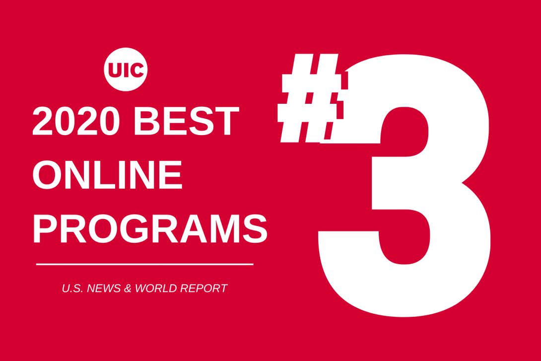 2020 Best Online Programs graphic