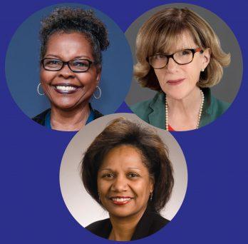 Phyllis Pelt, Angelique Richard, JoEllen Wilbur