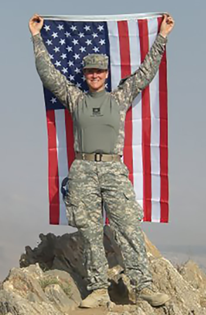 Tosha Donnals in Afghanistan