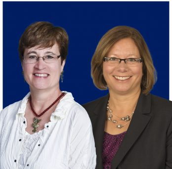 Colleen Corte and Cynthia Reese