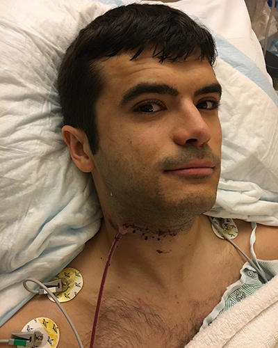 Beau Barber recovers in hospital