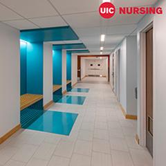 Sim Lab hallway