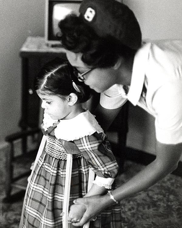 VNA Nurse, 1950.
